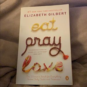 Eat Pray Love By Elizabeth Gilbert Preowned Book